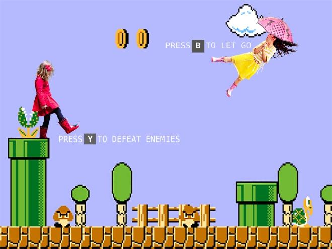 Kids in Mario